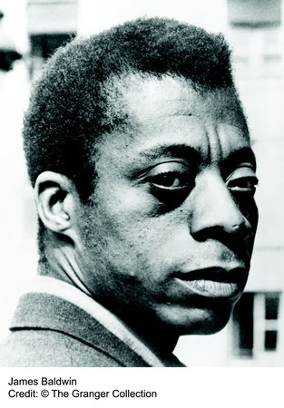 Photo of James Baldwin