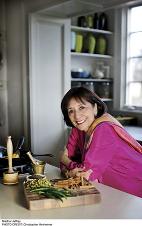 Photo of Madhur Jaffrey