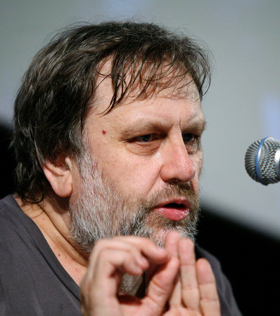 Photo of Slavoj Zizek