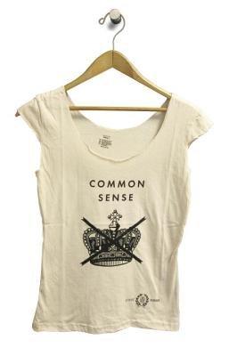 Penguin Men's Tee: Common Sense (L) Black