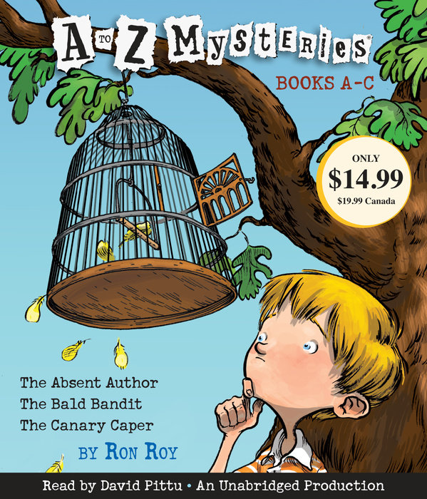 A to Z Mysteries: Books A-C