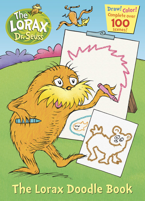 The Lorax Doodle Book