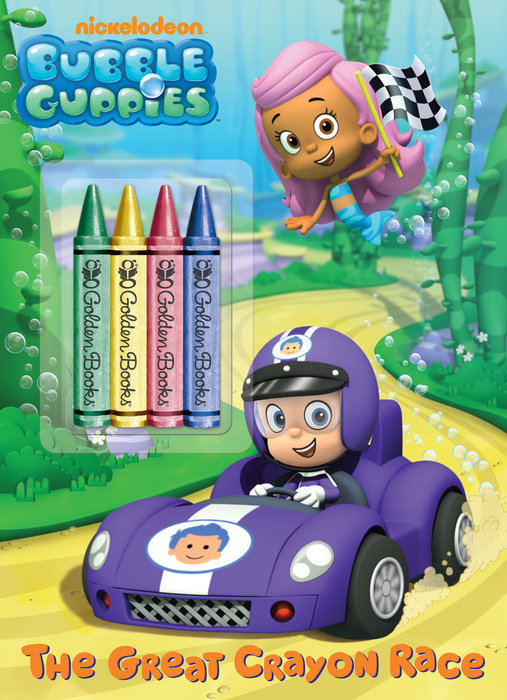 The Great Crayon Race (Bubble Guppies)