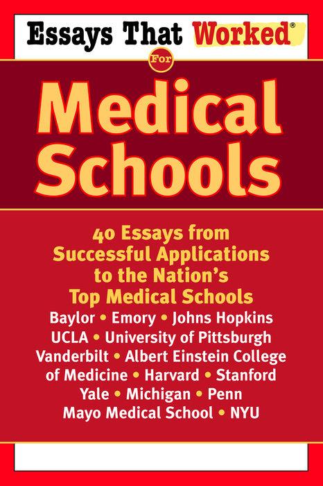 medical application essays