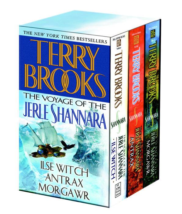 Voyage of the Jerle Shannara 3c box set MM