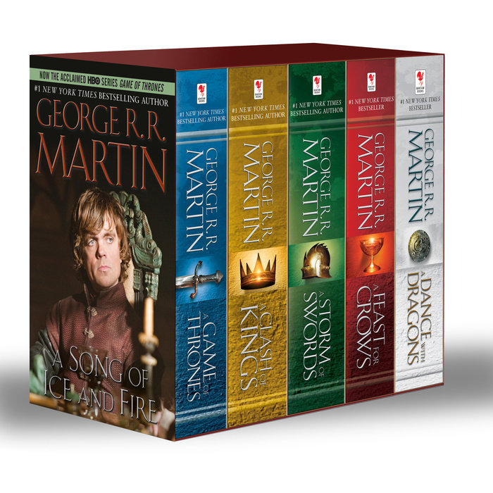 George R. R. Martin's A Game of Thrones 5-Book Boxed Set (Song of Ice and Fire  Series)