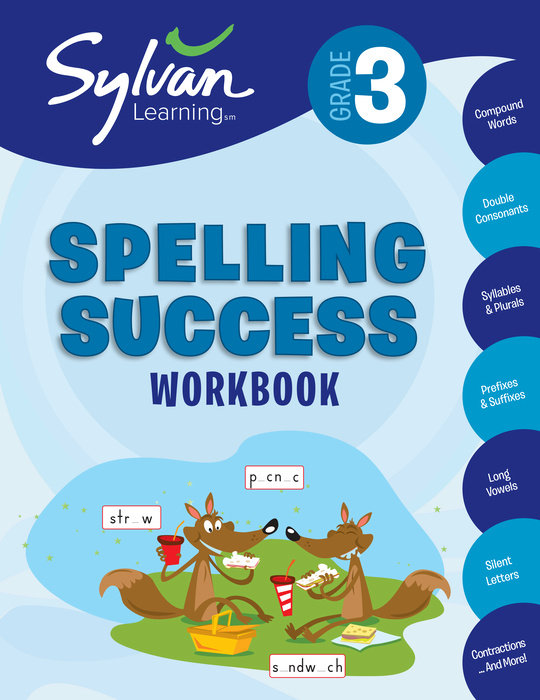 3rd Grade Spelling Success Workbook
