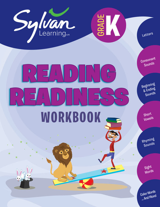 Kindergarten Reading Readiness Workbook