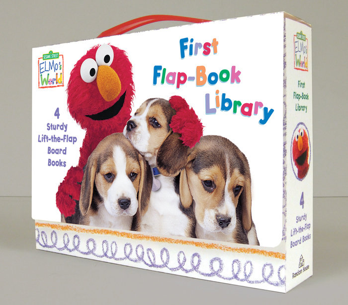 Elmo's World: First Flap-Book Library (Sesame Street)