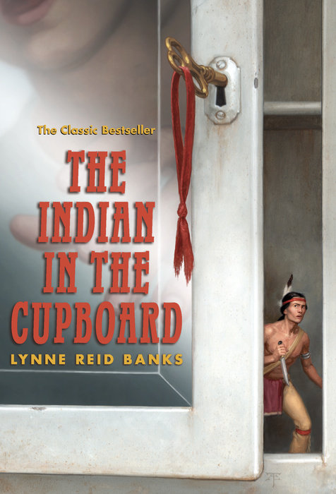 Book cover for The Indian in the Cupboard