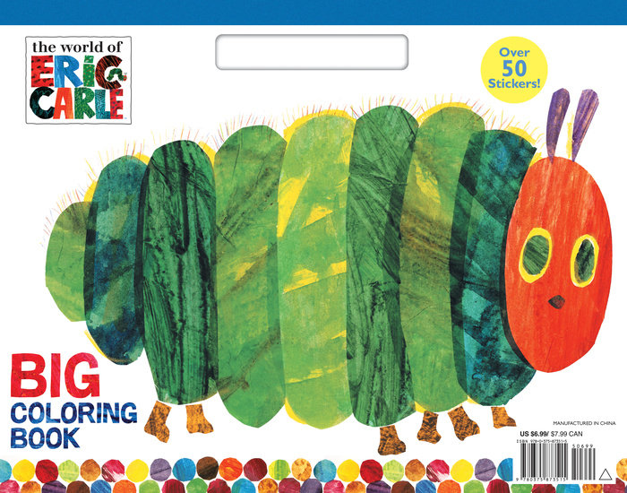 The World of Eric Carle Big Coloring Book (The World of Eric Carle)