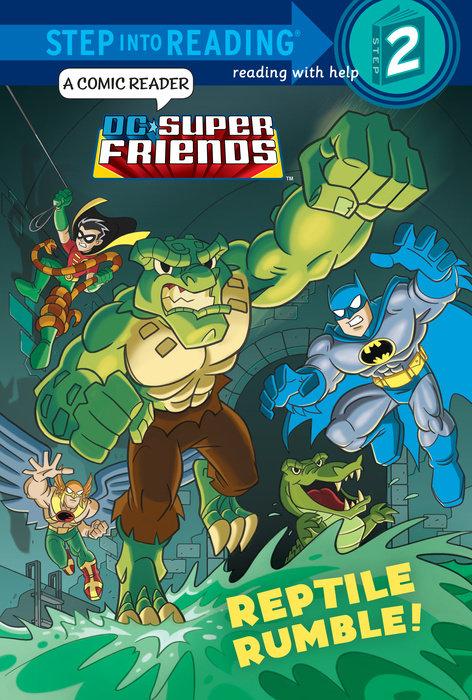 Reptile Rumble! (DC Super Friends)