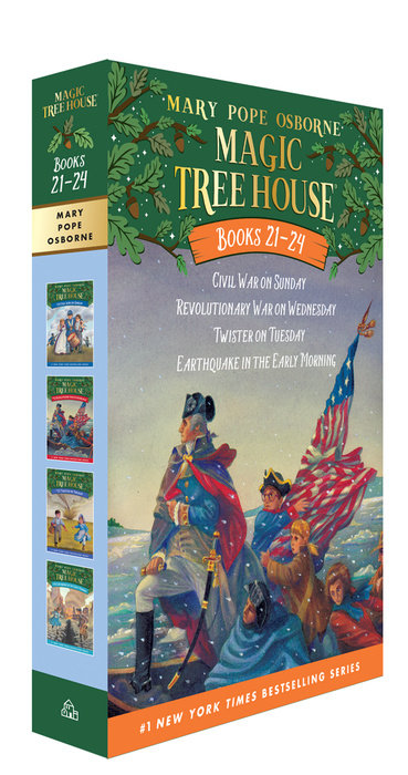 Magic Tree House Volumes 21-24 Boxed Set