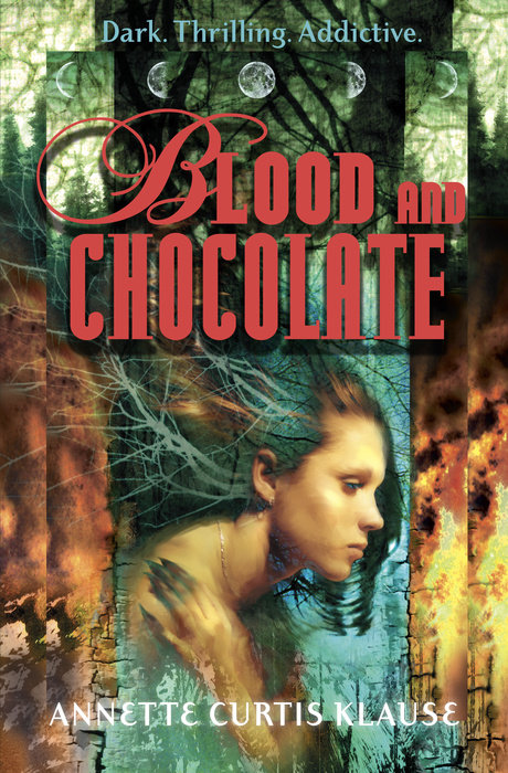 Book cover for Blood and Chocolate