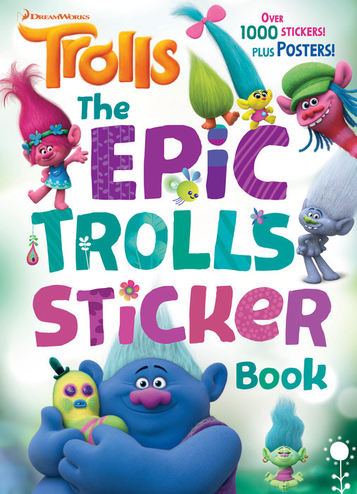 The Epic Trolls Sticker Book (DreamWorks Trolls)
