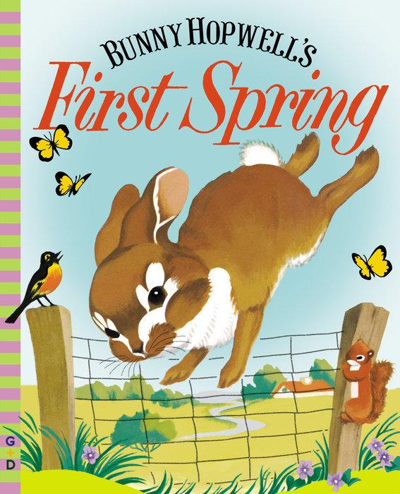 Bunny Hopwell's First Spring