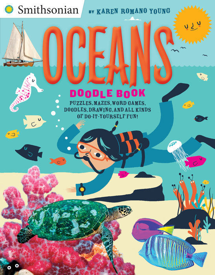 Oceans Doodle Book