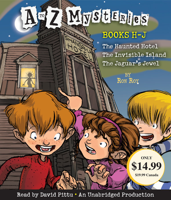 A to Z Mysteries: Books H-J
