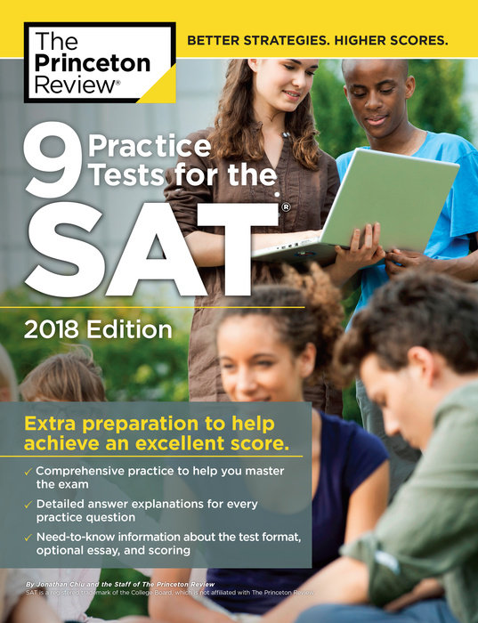 9 Practice Tests for the SAT, 2018 Edition