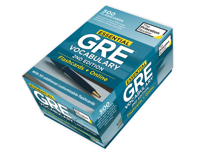 Essential GRE Vocabulary, 2nd Edition: Flashcards + Online