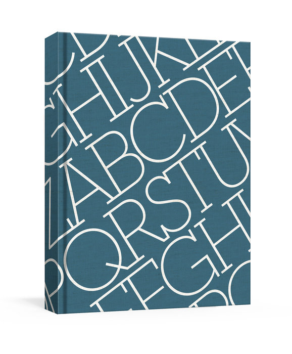 House Industries Indigo Linen Journal