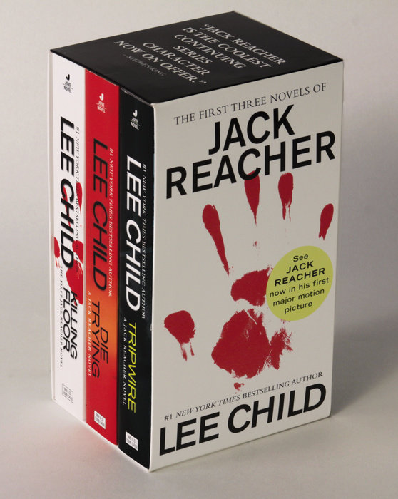 Lee Child Jack Reacher Books 1-3