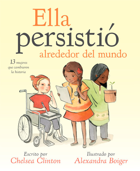 She Persisted Around the World (Spanish edition)