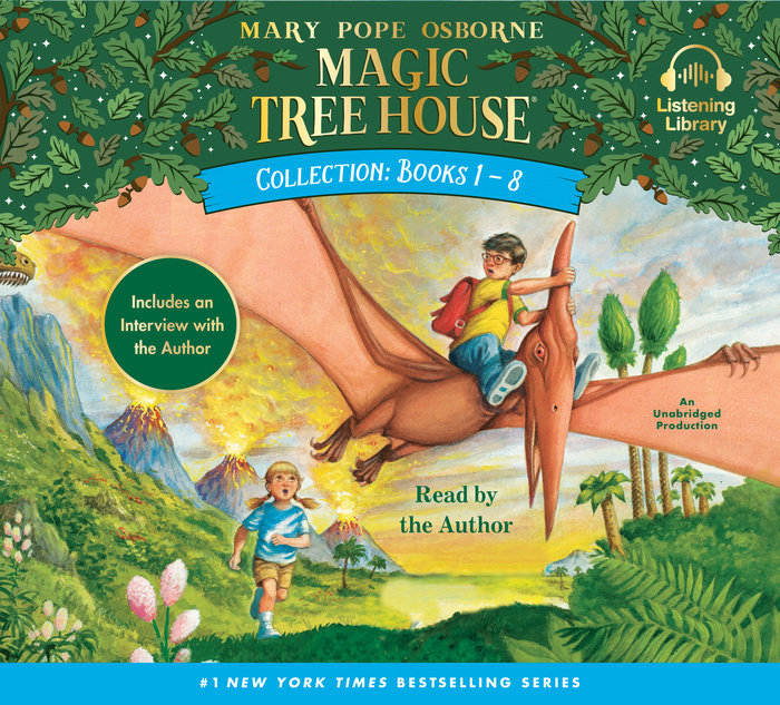 Magic Tree House Collection: Books 1-8