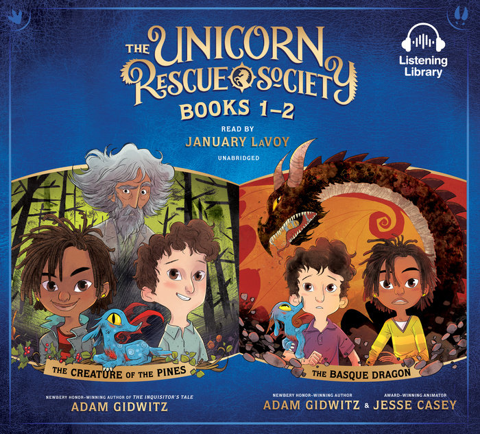 Unicorn Rescue Society Books 1-2