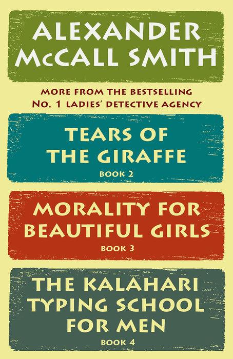 The No. 1 Ladies' Detective Agency Box Set (Books 2-4)