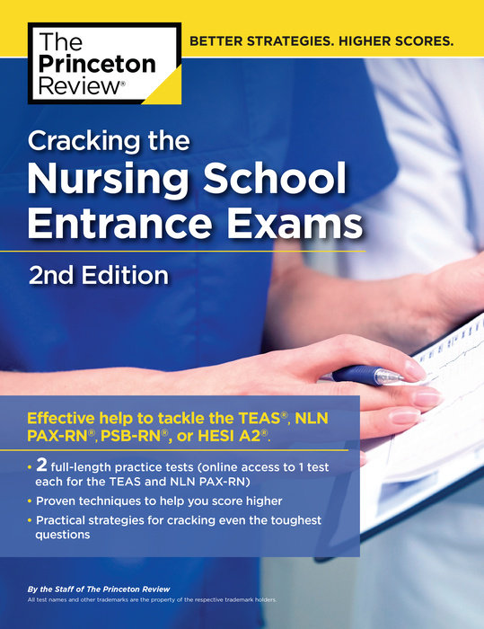 image relating to Printable Hesi Practice Test called Cracking the Nursing College Front Assessments, 2nd Version