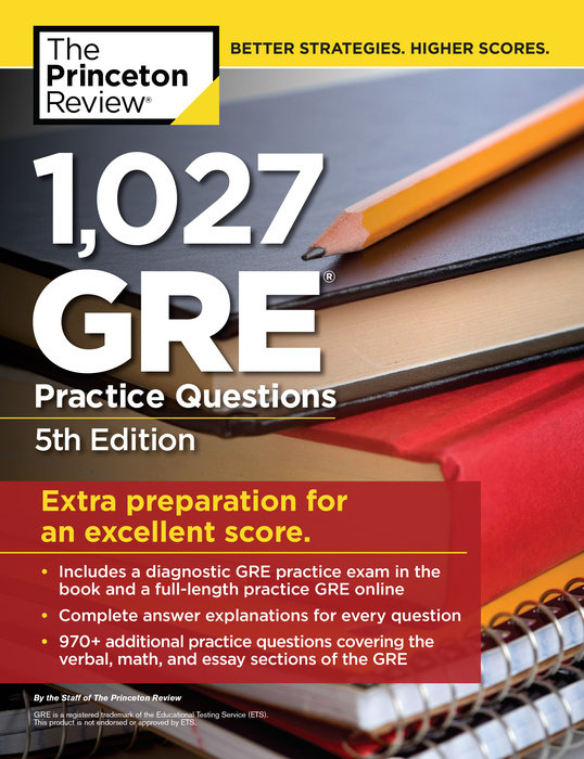 1,007 GRE Practice Questions, 5th Edition