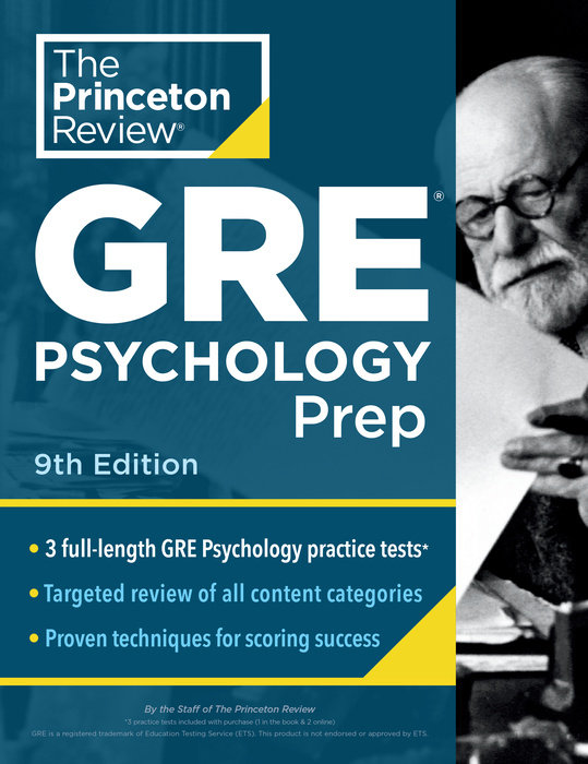 Princeton Review GRE Psychology Prep, 9th Edition