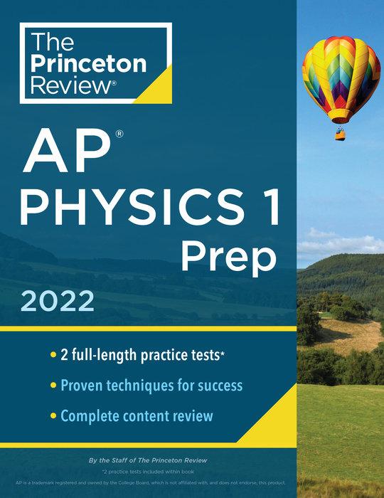 Princeton Review AP Physics 1 Prep, 2022