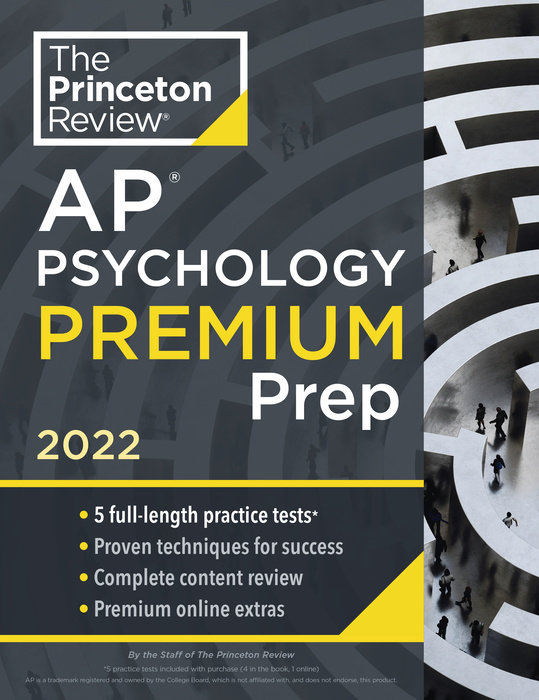 Princeton Review AP Psychology Premium Prep, 2022