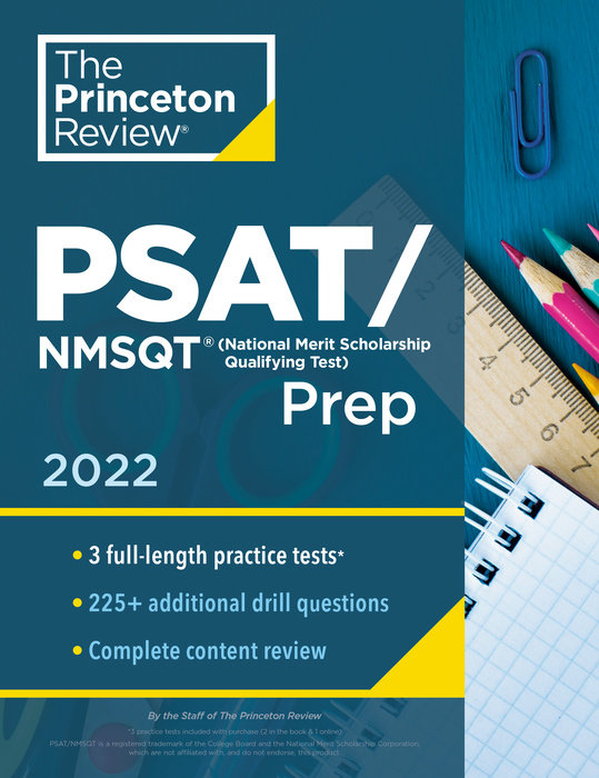 Princeton Review PSAT/NMSQT Prep, 2022