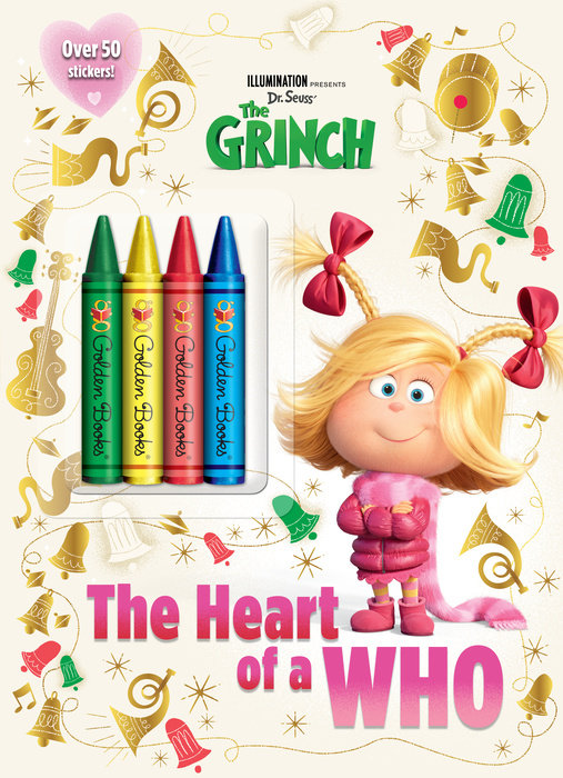 Illumination presents Dr. Seuss' The Grinch Chunky Crayon (Illumination's The  Grinch)