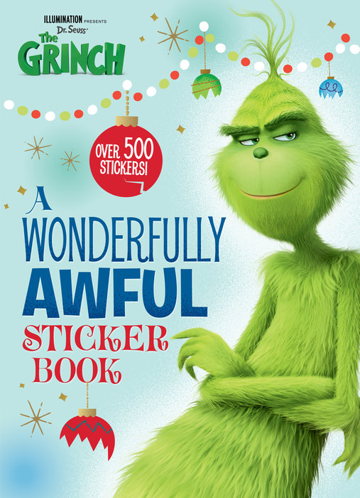 Illumination presents Dr. Seuss' The Grinch 4C Activity Book with Stickers (Illumination's The Grinch)