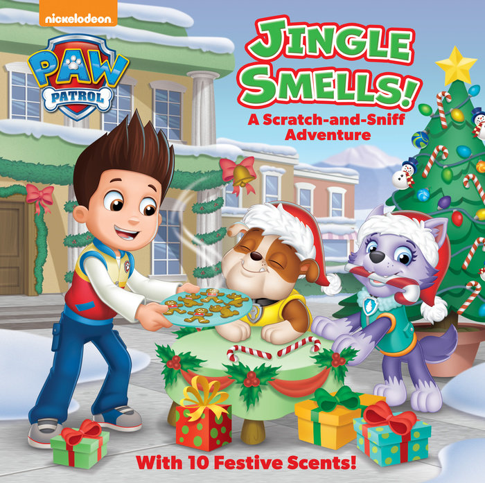 Jingle Smells!: A Scratch-and-Sniff Adventure (PAW Patrol)