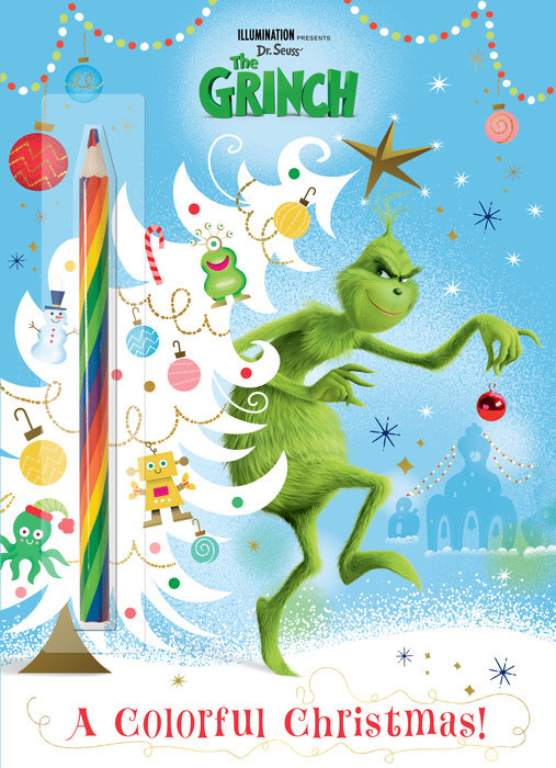 Illumination presents Dr. Seuss' The Grinch C&A w/Rainbow Pencil (Illumination's  The Grinch)
