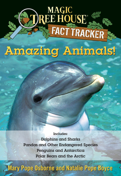 Amazing Animals! Magic Tree House Fact Tracker Collection