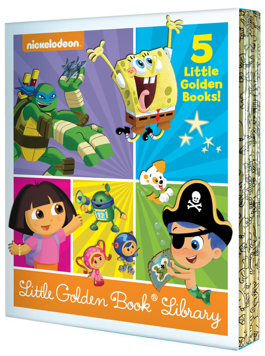 Nickelodeon Little Golden Book Library (Nickelodeon)