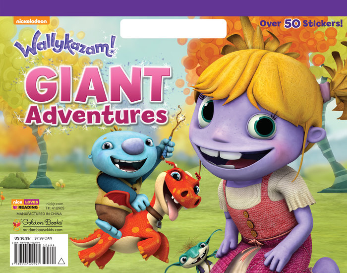 Giant Adventures (Wallykazam!)