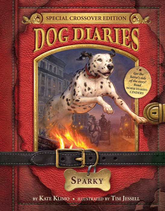 Cover Of Dog Diaries 9 Sparky