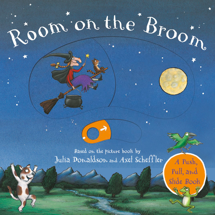 Room on the Broom Push-Pull-Slide