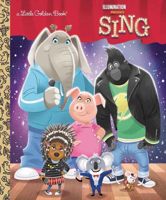 Illumination's Sing Little Golden Book