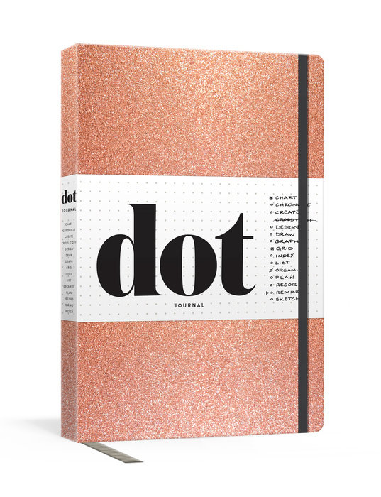Dot Journal (Rose Gold)
