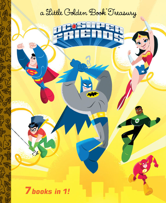 DC Super Friends Little Golden Book Treasury (DC Super Friends)