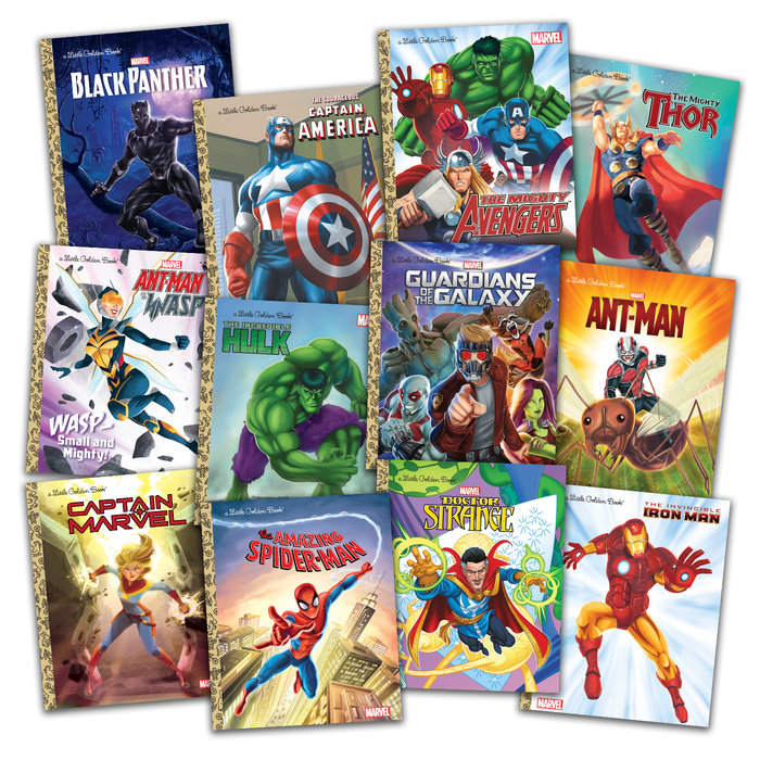 Marvel Little Golden Books Set