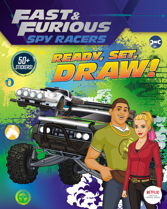 Fast & Furious: Spy Racers: Ready, Set, Draw!
